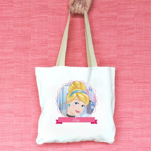 Cinderella Personalised Tote Bag